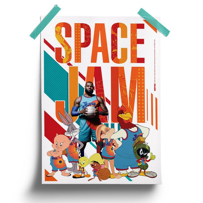 Tune Squad - Space Jam Official Poster