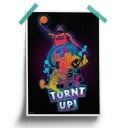 Turnt Up - Space Jam Official Poster