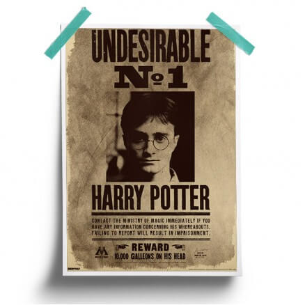 Undesirable No.1 - Harry Potter Official Poster
