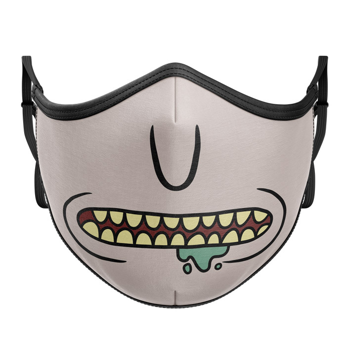 Rick Face - Rick And Morty Official Premium Mask