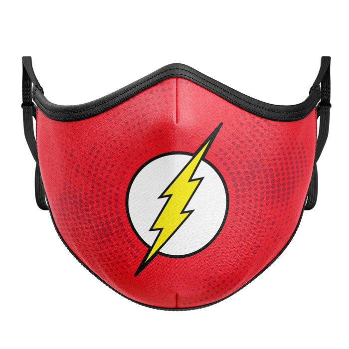 The Flash: Classic Logo - The Flash Official Premium Mask
