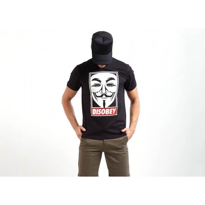 Disobey T-shirt | Obey T-shirts | V For Vendetta Tees