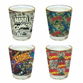 Marvel Comics - Official Marvel Comics Shot Glass Set