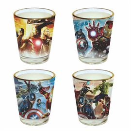 Avengers - Official Marvel Comics Shot Glass Set
