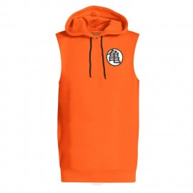 King Kai Kanji - Dragon Ball Z Official Sleeveless Hoodie
