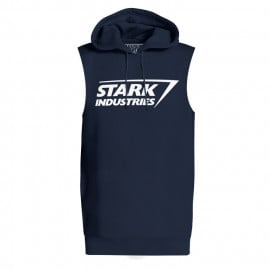 Stark Industries Logo - Marvel Official Sleeveless Hoodie