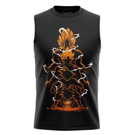 DBZ: Evolution - Dragon Ball Z Official Sleeveless T-shirt