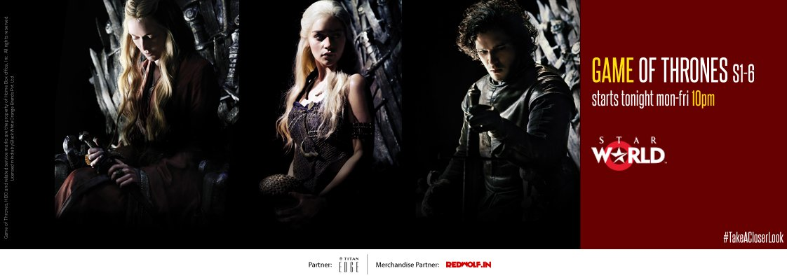 Game Of Thrones On Star WOrld