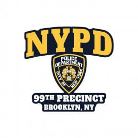 99th Precinct - Sticker