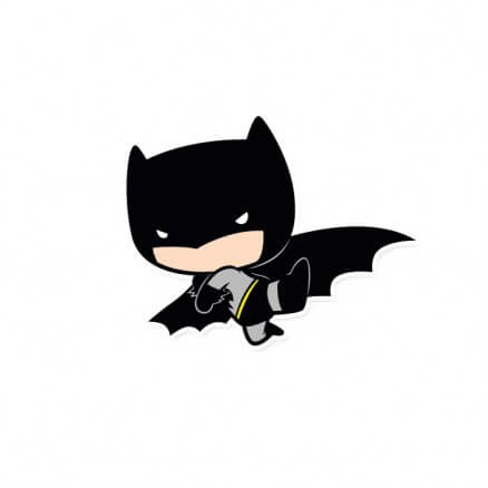 Batman Chibi - Batman Official Sticker