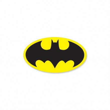 Batman Classic Logo - Batman Official Sticker
