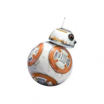 BB8 - Star Wars Official Sticker