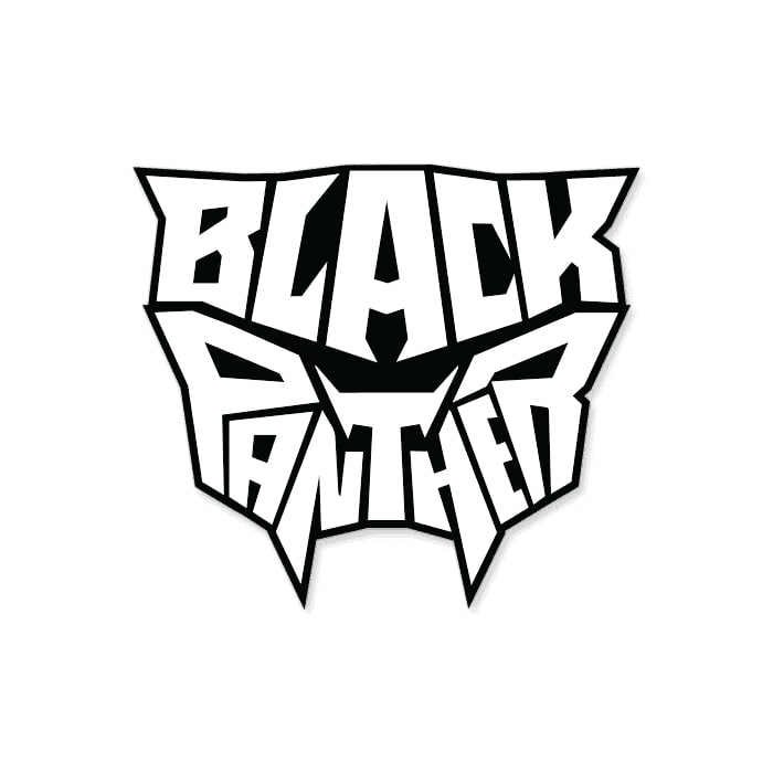 Black Panther Icon - Marvel Official Sticker