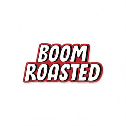 Boom Roasted - Sticker