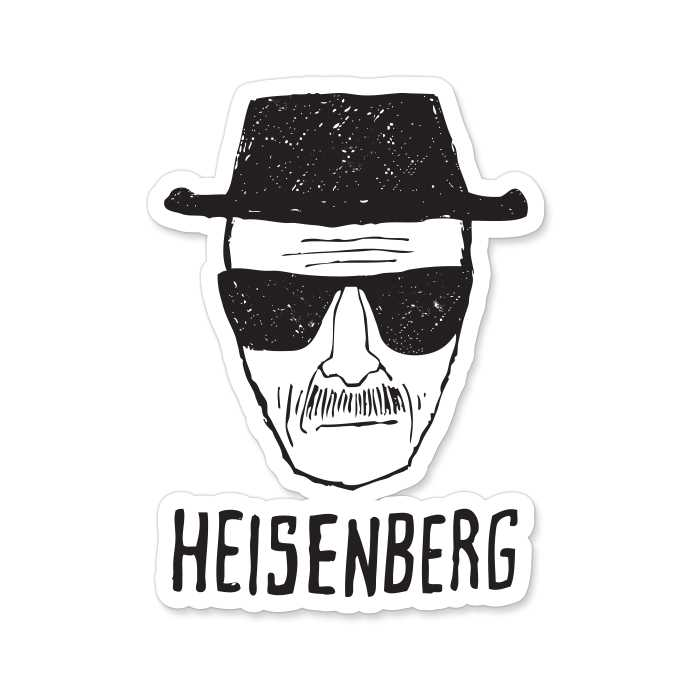 Breaking Bad: Heisenberg - Sticker