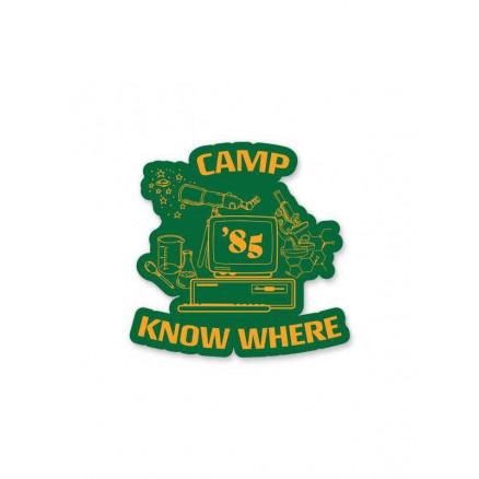 Camp Know Where - Sticker