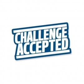 HIMYM: Challenge Accepted - Sticker