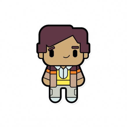 Chibi Raj - The Big Bang Theory Official Sticker