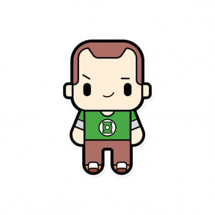 Chibi Sheldon - The Big Bang Theory Official Sticker