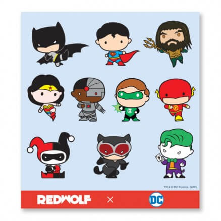 DC Comics: Chibi - DC Comics Official Sticker Sheet