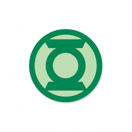 Green Lantern: Logo - DC Comics Official Sticker