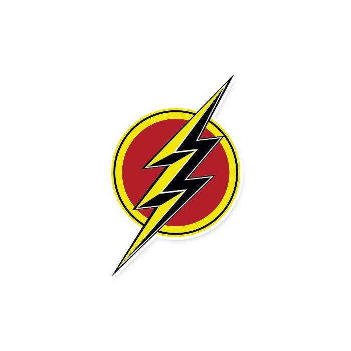 The Flash Logo - Official DC Comics Sticker
