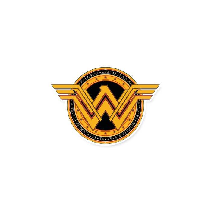 Wonder Woman Logo - Official DC Comics Sticker