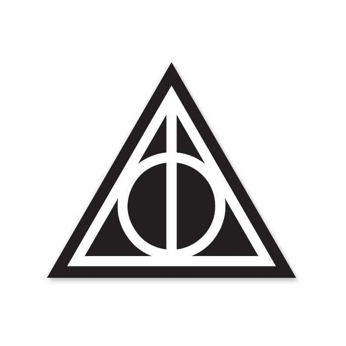 Deathly Hallows - Sticker