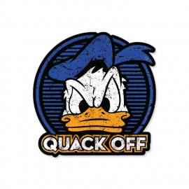 Quack Off - Disney Official Sticker