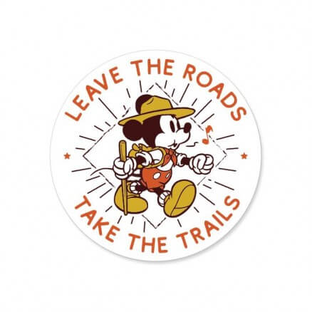 Take The Trails - Disney Official Sticker