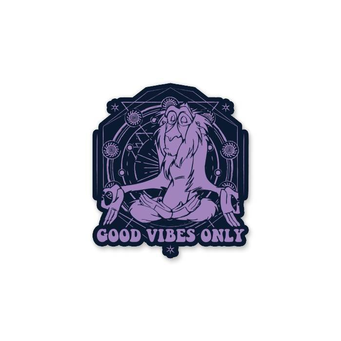 Rafiki: Good Vibes Only - Disney Offcial Sticker