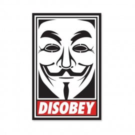 Disobey - Sticker