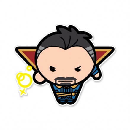 Doctor Strange Chibi - Marvel Official Sticker
