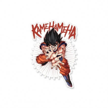 Kamehameha - Dragon Ball Z Official Sticker