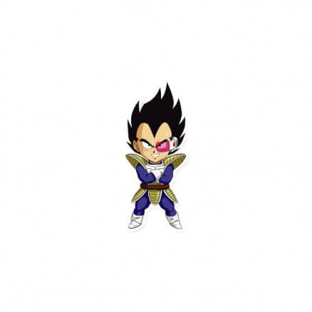 Kawaii Vegeta - Dragon Ball Z Official Sticker