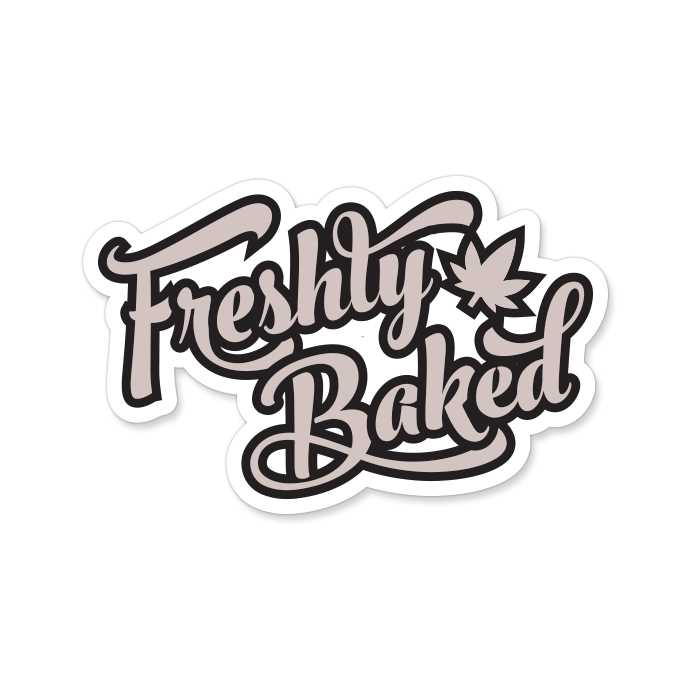 Freshly Baked - Sticker