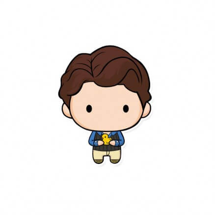 Chandler Chibi - Friends Official Sticker