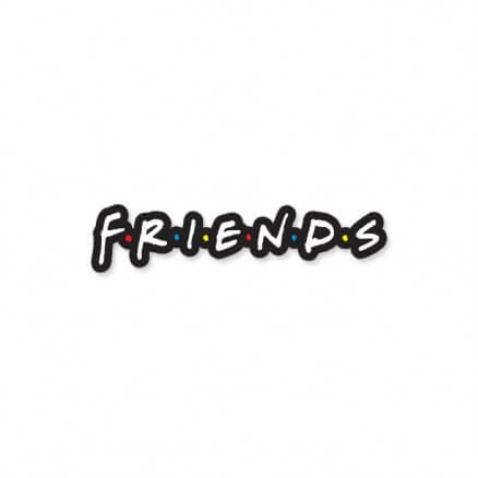 F.R.I.E.N.D.S: Logo - Friends Official Sticker