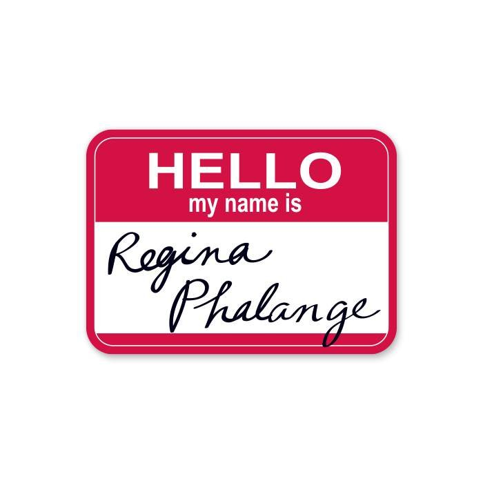Regina Phalange - Official Friends Sticker