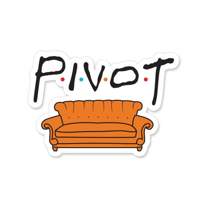 Pivot - Sticker