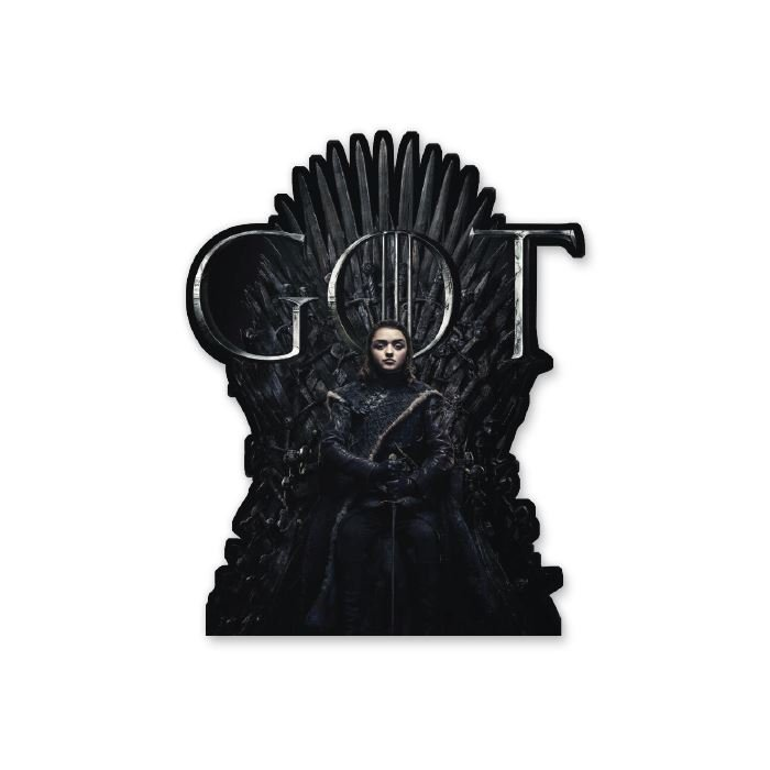 Arya Stark - Game Of Thrones Official Sticker