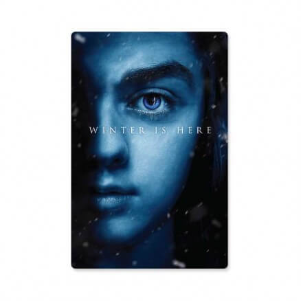 Arya Stark: Winter Is Here - Game Of Thrones Official Sticker
