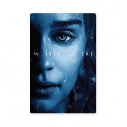 Daenerys Targaryen: Winter Is Here - Game Of Thrones Official Sticker