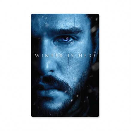 Jon Snow: Winter Is Here - Game Of Thrones Official Sticker