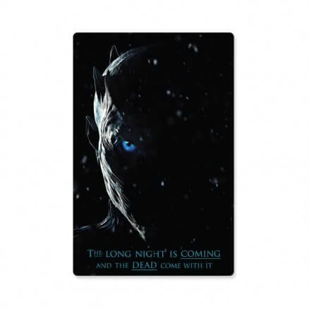 The Long Night - Game Of Thrones Official Sticker
