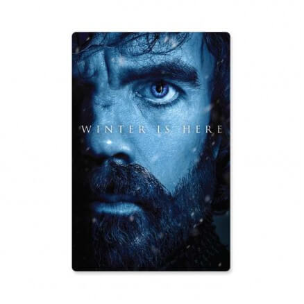 Tyrion Lannister: Winter Is Here - Game Of Thrones Official Sticker