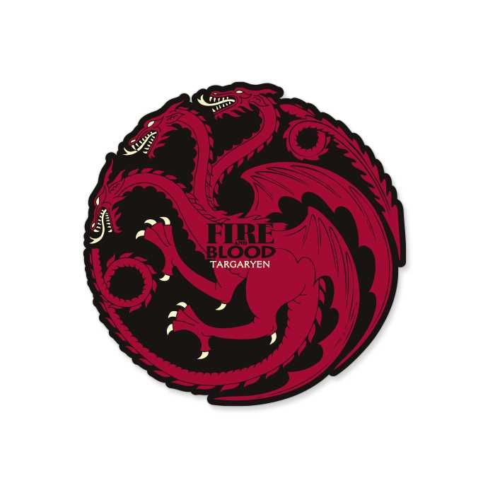 Fire And Blood - Game Of Thrones Official Sticker