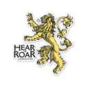 Hear Me Roar - Game Of Thrones Official Sticker