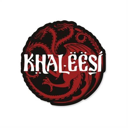 Khaleesi - Game Of Thrones Official Sticker
