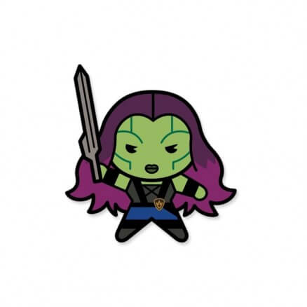 Gamora Chibi - Marvel Official Sticker